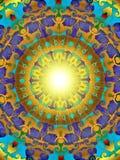 Golden sun Royalty Free Stock Image