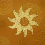 Golden sun Royalty Free Stock Photography