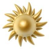 Golden sun Stock Photos