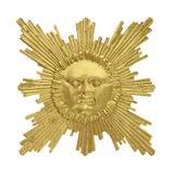 Golden sun Royalty Free Stock Photos
