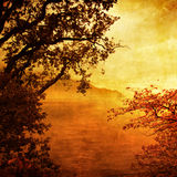 Golden sundown Royalty Free Stock Photo
