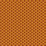 Golden sunny honeycomb pattern. Hexagonal vector design. Trendy polygon texture. Stylish geometric background for your design vector illustration