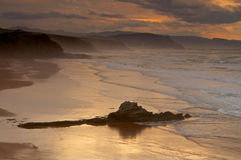 The golden sunrise Stock Photography