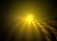 Golden sunrise Stock Photography