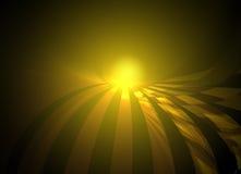Golden sunrise Stock Photography