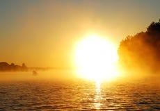 Golden Sunrise Royalty Free Stock Photos