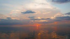 Golden sunrise stock video
