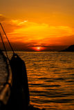 Golden sunset Royalty Free Stock Photo
