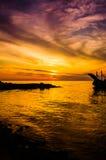 Golden Sunset Seascape Royalty Free Stock Image