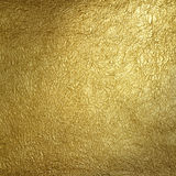 Golden surface. Golden wrinkled surface.Textured surface pattern Royalty Free Stock Photography