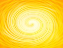 Golden swirl. Stock Photo