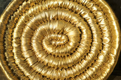 The golden swirl Stock Image