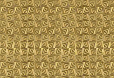 Golden swirls. Regular golden swirls background texture royalty free illustration