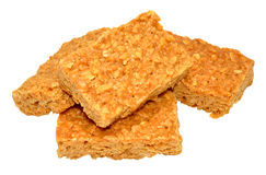 Golden Syrup Oat Flapjacks Stock Image