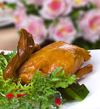 Golden tasty chicken Stock Photography