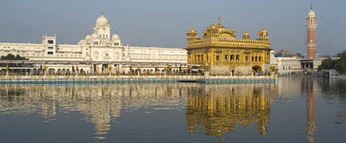 The Golden Temple. The golden Sikh temple in Amritsar, North-West India Royalty Free Stock Photography