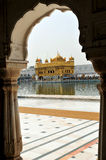 Golden temple. In Amtisar, India Royalty Free Stock Photos