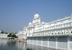 Golden Temple. In Amritsar, India Royalty Free Stock Photo