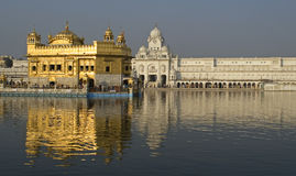 The Golden Temple 2. The Golden Sikh Temple in Amritsar, NW-India Royalty Free Stock Image