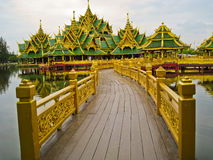 The golden temple Stock Photography