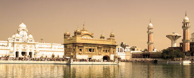 Golden temple. In Amtisar, India Royalty Free Stock Image