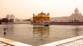 Golden temple Stock Photography
