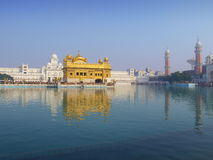 Golden Temple. The Golden Temple is culturally the most significant place of worship of the Sikh religion Amritsar - India stock photo