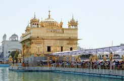 Golden Temple in amristar Stock Images