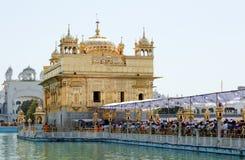 Golden Temple in Amristar. India, Amritsar, Sri Harmandir Sahib or Golden Temple Stock Images