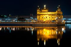 Golden Temple in Amritsar Royalty Free Stock Image