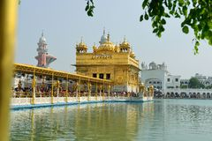 Golden Temple, Amritsar Stock Photos