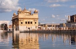 The Golden Temple of Amritsar. Royalty Free Stock Images