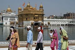 Golden Temple, Amritsar Royalty Free Stock Images