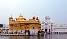 Golden temple of amritsar stock photos