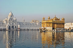Golden Temple; Amritsar. Golden Temple is the holiest Sikh gurdwara located in the city of Amritsar, Punjab, India Stock Photography