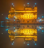 Golden Temple in Amritsar,  India. Royalty Free Stock Images