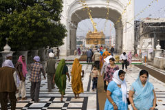 Golden Temple of Amritsar - India Stock Image