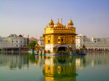 Golden Temple, Amritsar. Golden Temple in Amritsar, India royalty free stock photos