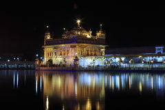 The Golden Temple of Amritsar Stock Image