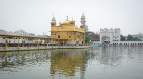 Golden Temple in Amritsar, India Royalty Free Stock Images