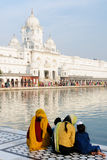 Golden temple at Amritsar, India Stock Photography