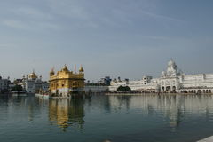 Golden temple at amritsar Stock Images