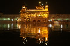 Golden temple at amritsar Royalty Free Stock Photos