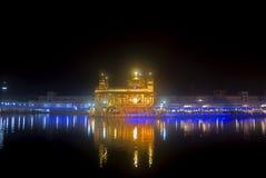 The Golden Temple, Amritsar, Punjab, India. The Harmandir Sahib is considered the holiest shrine by Sikhs. The 11th and eternal Guru Sri Guru Granth Sahib Ji is Stock Image