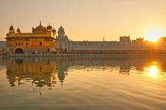 Golden Temple in Amritsar, Punjab, India. stock photos