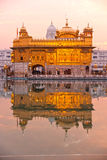 Golden Temple in Amritsar, Punjab, India. Royalty Free Stock Photo