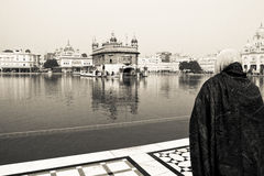 Golden Temple of Amritsar, Punjab, India Stock Photos
