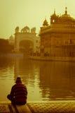 The Golden Temple of Amritsar, Punjab, India Stock Image