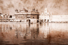 Golden Temple in Amritsar, Punjab, India. Stock Images