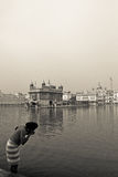 The Golden Temple of Amritsar, Punjab, India Stock Photos